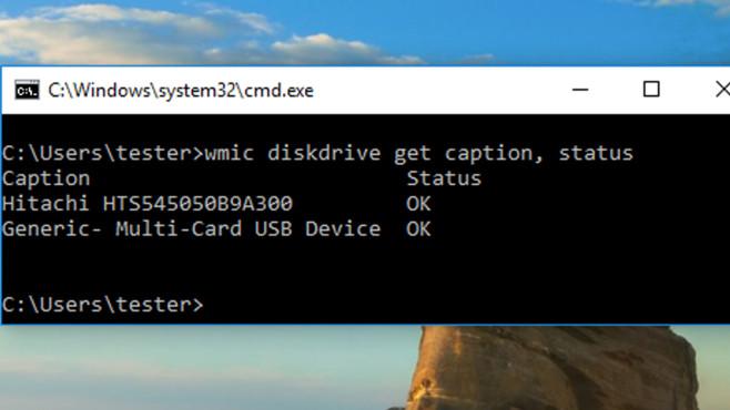 Windows 7/8/10: Festplattengesundheit auslesen – mit Bordmitteln©COMPUTER BILD