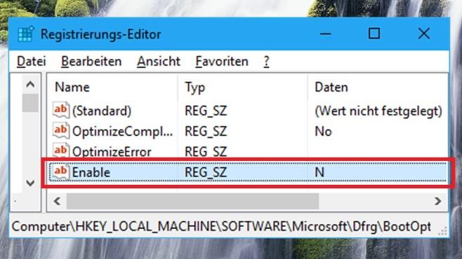 Boot-Dateien defragmentieren ©COMPUTER BILD