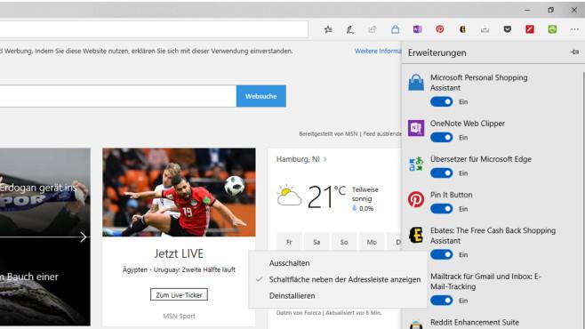 Browser-Zusätze wegschaffen ©COMPUTER BILD
