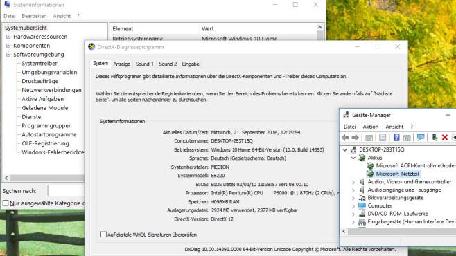 PC-Infos zum Aufrüsten auslesen ©COMPUTER BILD