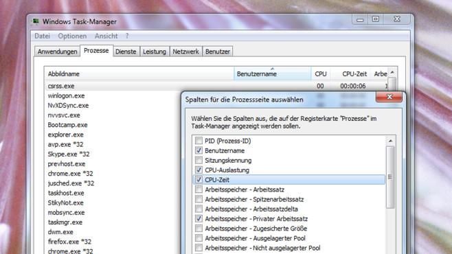 Überflüssige Hintergrundprogramme beenden ©COMPUTER BILD
