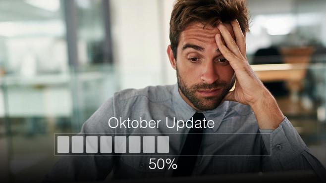 Datenverlust durch Updates wie das Oktober 2018 Update ©iStock.com/PeopleImages