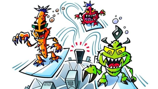 Der Nutzer ist ein Virus ©COMPUTER BILD