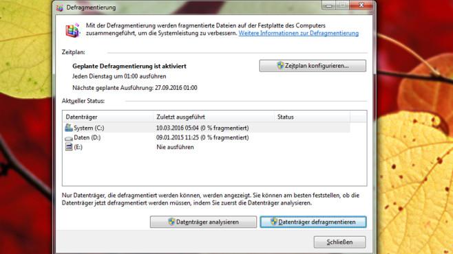 Festplatten-Beschleuniger vernichtet Daten ©COMPUTER BILD
