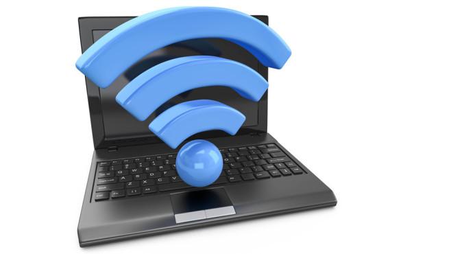 Spionage ab Werk ©Fotolia--fotomek-wlan laptop