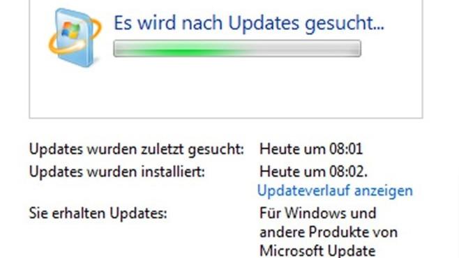 Updates schützen Windows 7 nicht ... ©COMPUTER BILD