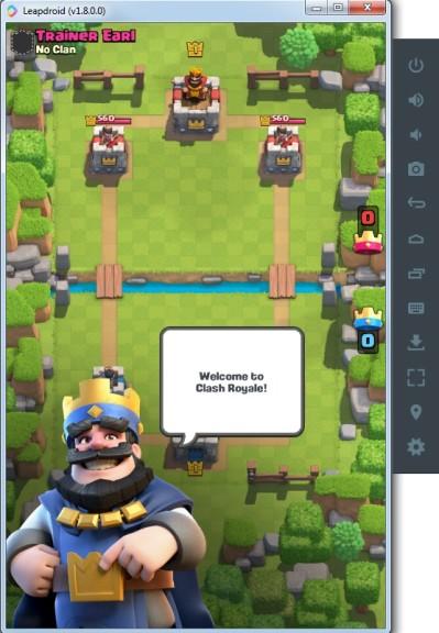 Screenshot 1 - LeapDroid