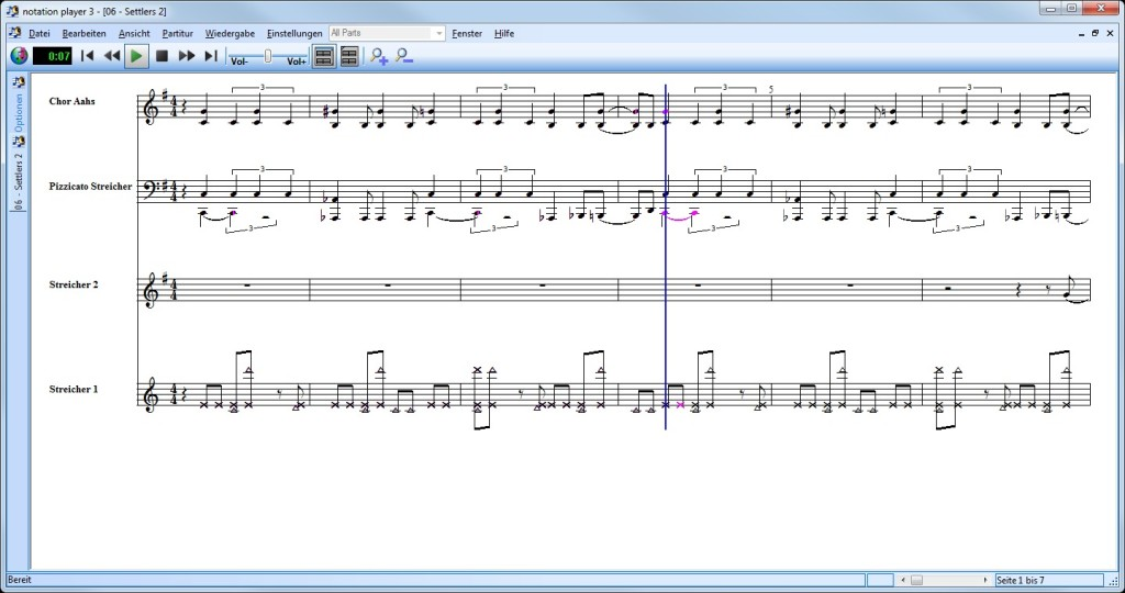 Screenshot 1 - Notation Player