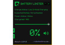 Screenshot 1 - Battery Limiter