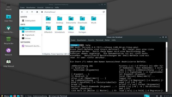 Linux Lite ©COMPUTER BILD