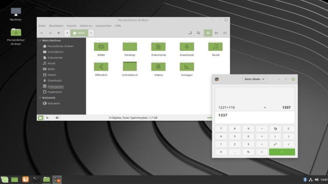 Linux Mint: Einsteigertaugliches System ©COMPUTER BILD