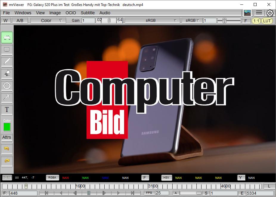 Screenshot 1 - mrViewer