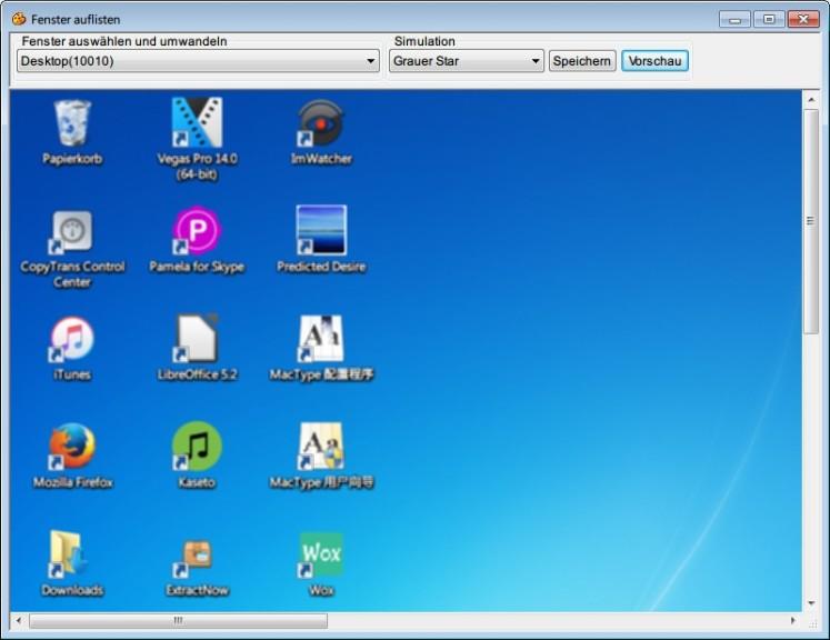 Screenshot 1 - Colour Contrast Analyser Portable