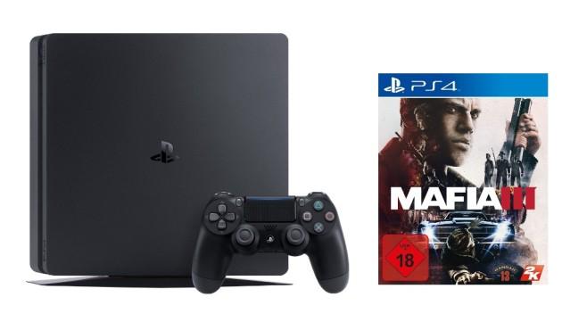 Sony PlayStation 4 inklusive Mafia 3 ©Media Markt