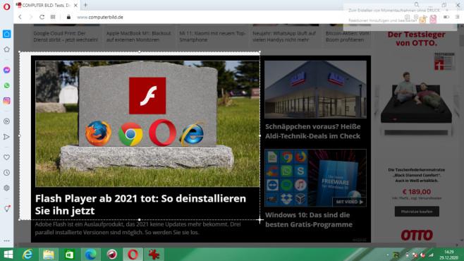 Windows 7/8/10: Screenshots erstellen – mit Bordmittel und Tools©COMPUTER BILD, iStock.com/digitalhallway