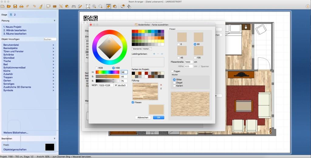 Screenshot 6   Room Arranger (Mac)