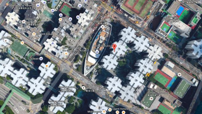 Hong Kong (China) ©Screenshot / Google