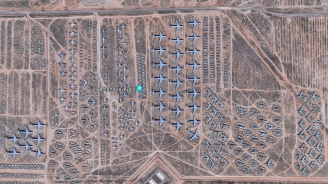Tucson, Arizona, USA ©Screenshot / Google