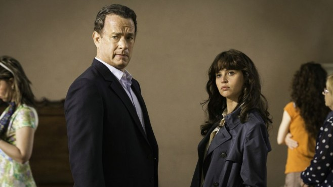 Tom Hanks und Felicity Jones in Inferno © Sony