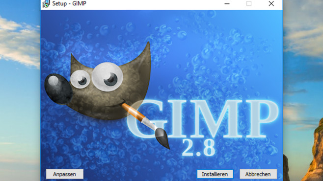 GIMP: Strg-S dient nicht dem Export ©COMPUTER BILD
