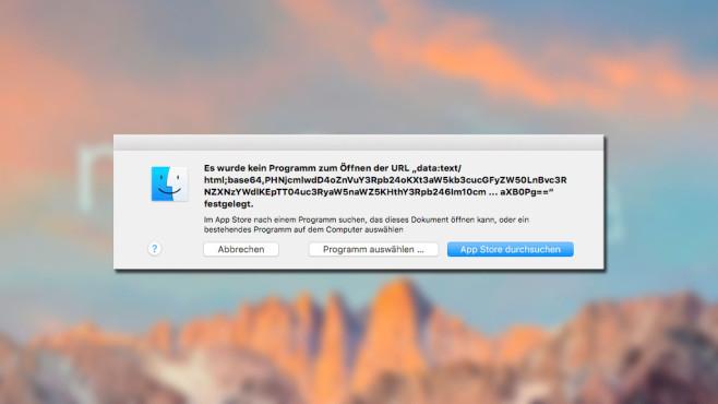 Mac-Fehler©Apple