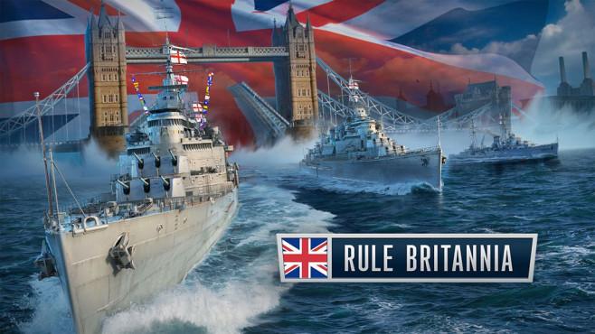 World of Tanks: Britische Flotte©Wargaming.net