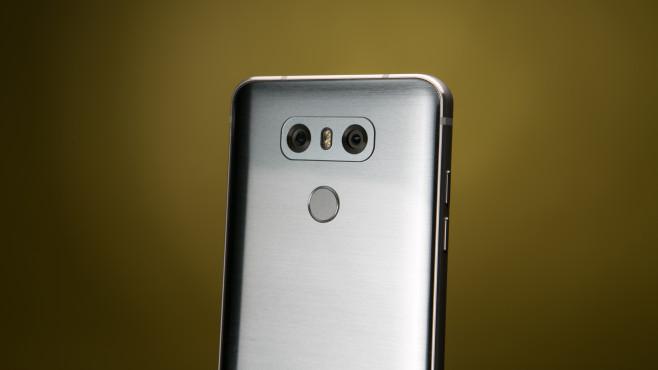LG G6: Rückseite©COMPUTER BILD