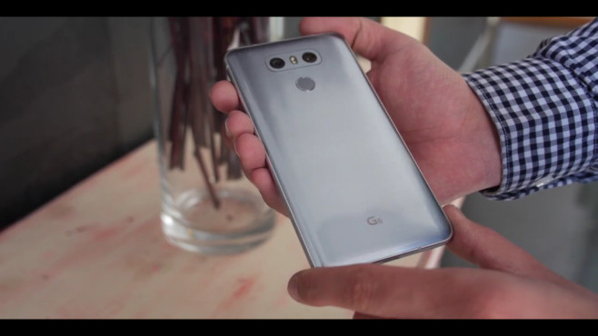 LG G6 im Praxis-Test: Rückseite©COMPUTER BILD