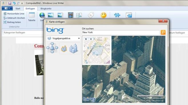 Eingestampft: Windows Live Writer 2012 ©COMPUTER BILD