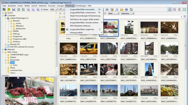 FastStone Image Viewer – alternativer Bildbetrachter/-verwalter ©COMPUTER BILD
