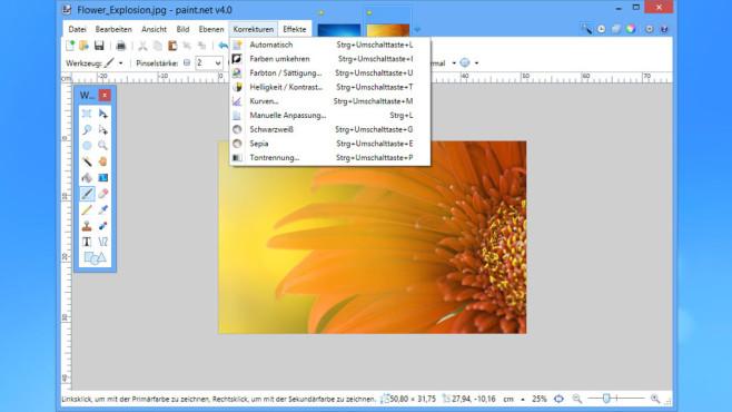 Paint.NET – alternative Bildbearbeitung ©COMPUTER BILD