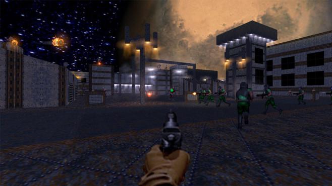 Brutal Doom 64©SGtMarkIV / id Software / Bethesda / Nintendo