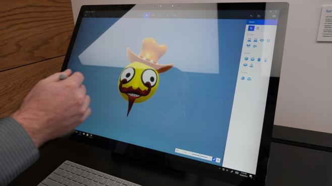 Microsoft Paint 3D©COMPUTER BILD