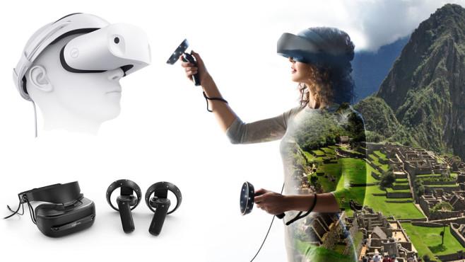 Microsoft: Windows-VR-Brillen kommen©Microsoft