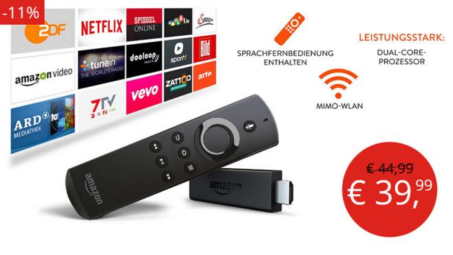 Deals Page Amazon Fire TV Stick©Amazon