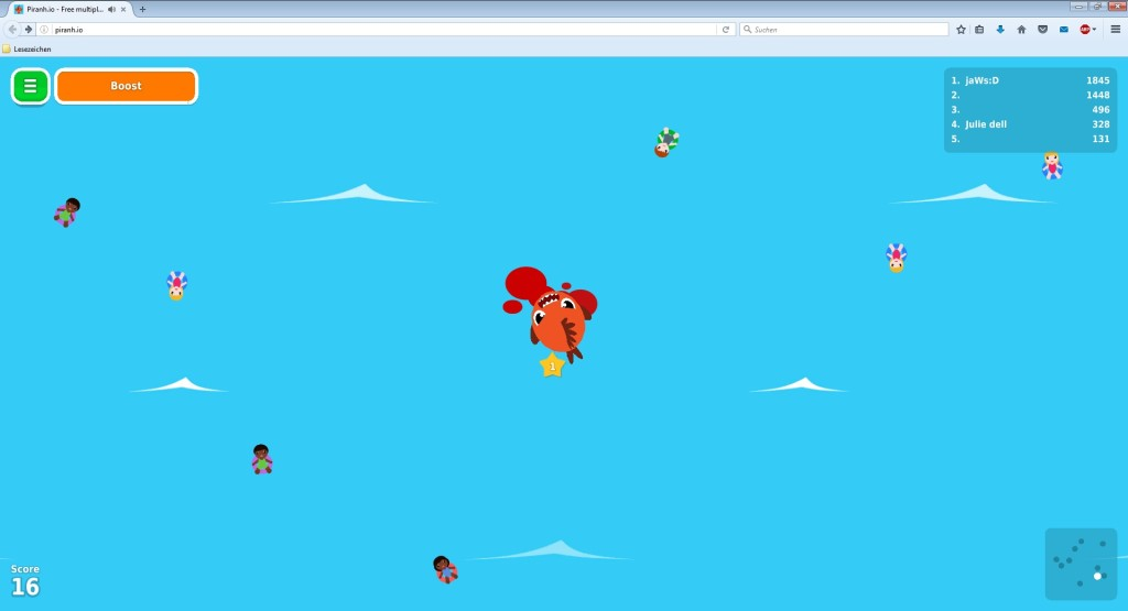 Screenshot 1 - Piranh.io