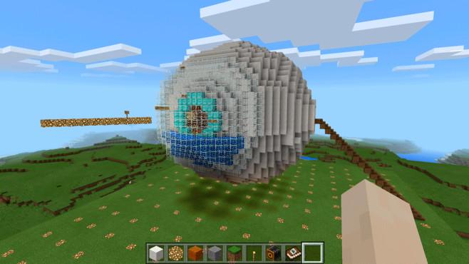 Laut Microsoft soll das Spiel Minecraft als Lernhilfe Einzug in Schulklassen finden.©Microsoft