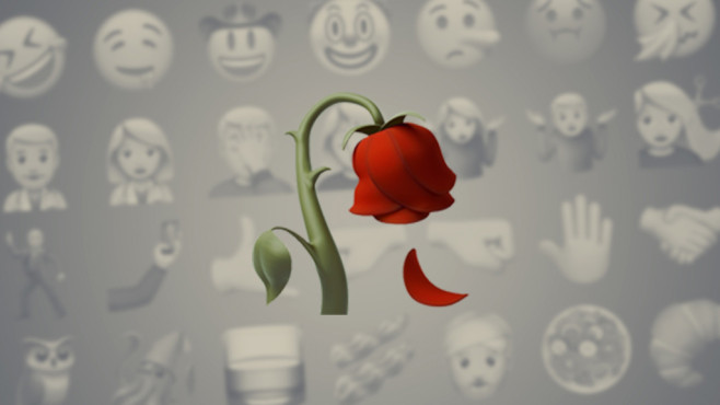 Rose © Emojipedia