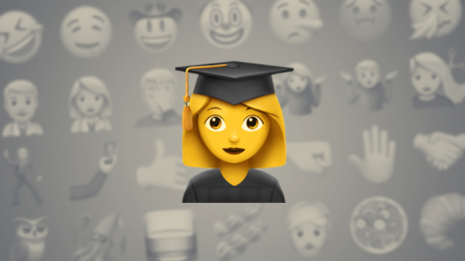 Studentin © Emojipedia