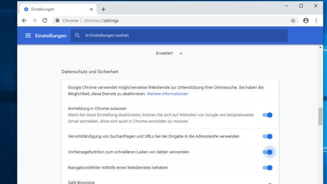 Google Chrome: Minimalistisch durchs Web bewegen ©COMPUTER BILD