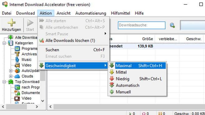 Internet Download Accelerator: Dateien herunterladen ©COMPUTER BILD