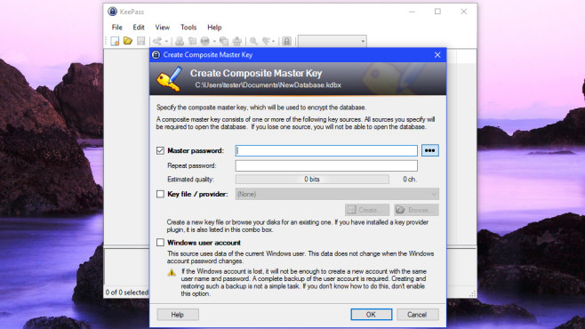 KeePass 2: Sichere Passwörter erzeugen, verwalten ©COMPUTER BILD