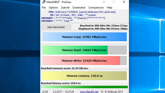MaxxMEM: RAM-Tempo messen ©COMPUTER BILD