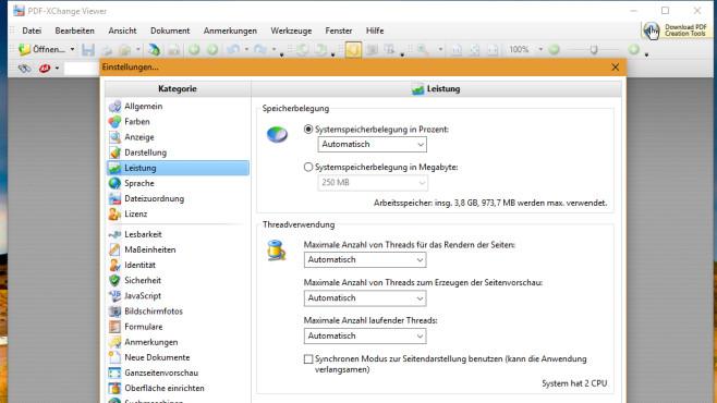 PDF-XChange Viewer: PDF-Dateien anzeigen ©COMPUTER BILD