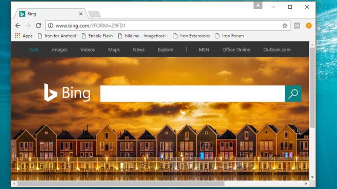 SRWare Iron: Datenschutz-freundlicher Chrome-Klon ©COMPUTER BILD