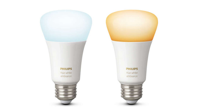Philips Hue White Ambiance Doppelpack E27 © Philips Lighting / Signify