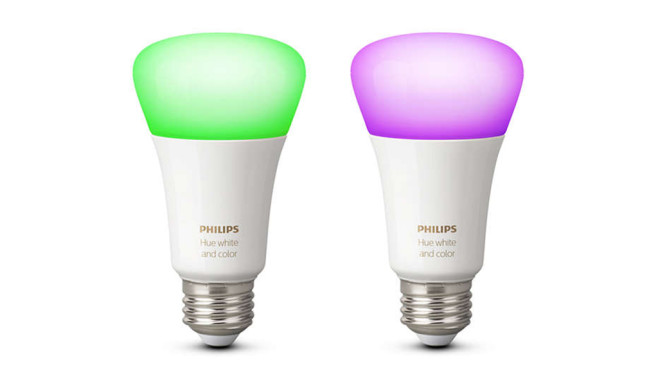 Philips Hue White and Color Ambiance Doppelpack E27 © Philips Lighting / Signify