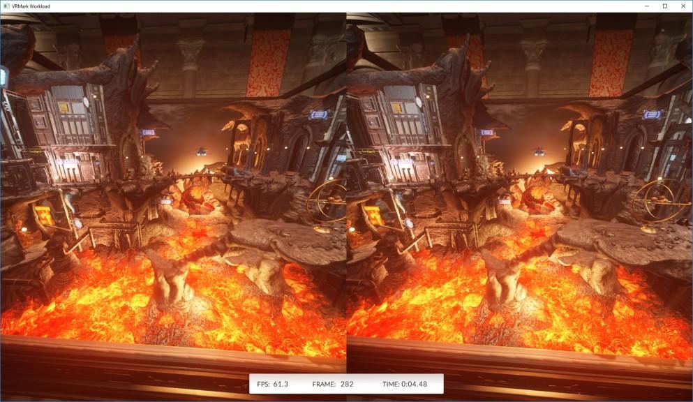 Screenshot 1 - VRMark
