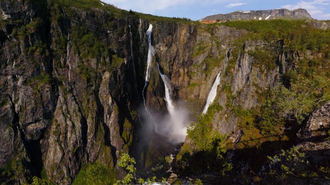 Photosynth: Wasserfall©Microsoft