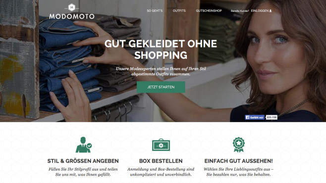 Modomoto ©Curated Shopping GmbH